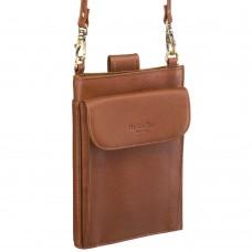 Нагрудный кошелек светло-коричневый Dr.Koffer X510352-146-09
