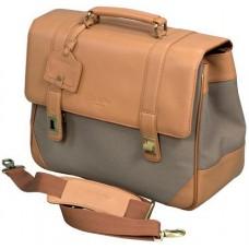 Дорожная сумка с кожаным клапаном Dr.koffer B280511
