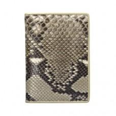 Dr.Koffer X510177-27-62 обложка для автодокументов из кожи питона
