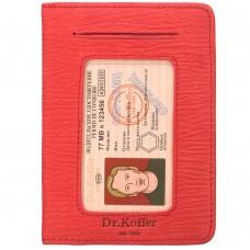 Dr.Koffer X268010-164-12 обложка для автодокументов