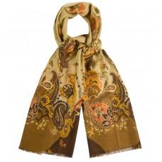 Тонкий шерстяной шарф Dr.Koffer S810484-135-58