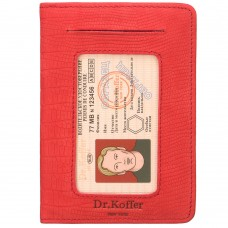 Dr.Koffer X268010-165-12 обложка для автодокументов
