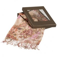 Женский шарф с бахромой Dr.Koffer S20-61