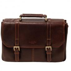 Мужской портфель со съемным плечевым ремнем Dr.koffer B457210-02-09
