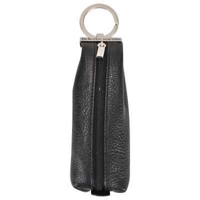 Черная ключница на молнии Dr.Koffer X510226-02-04