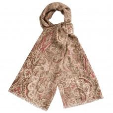 Женский коричневый шарф Dr.Koffer S810470-135-09