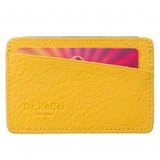 Желтая компактная кредитница Dr.Koffer X510236-170-67