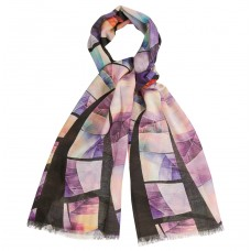 Женский шарф из смеси шелка и шерсти Dr.Koffer S810489-04-74